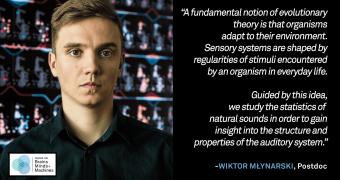 Wiktor Młynarski: Statistics of Natural Sounds